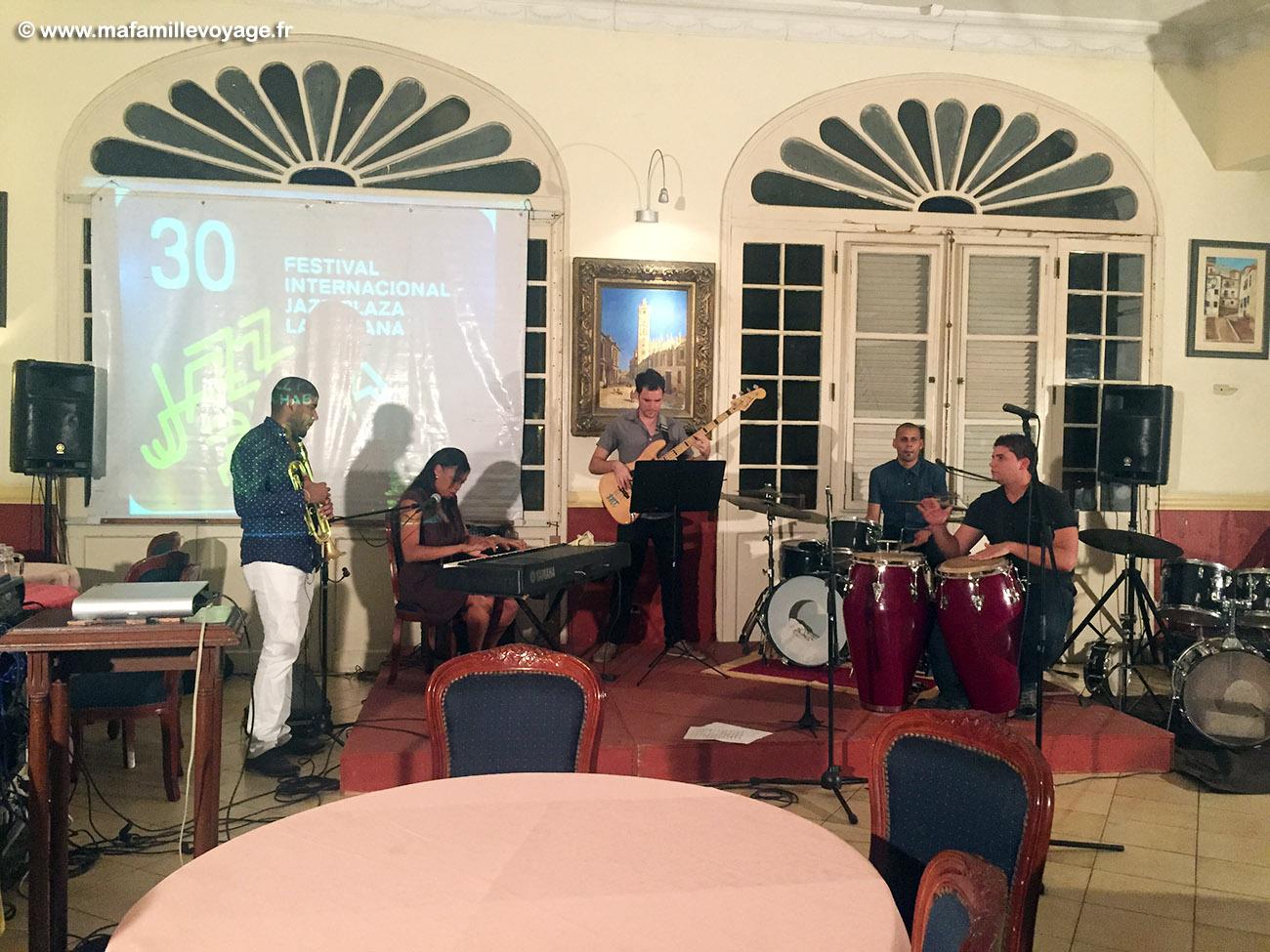 Festival de jazz de la Havane