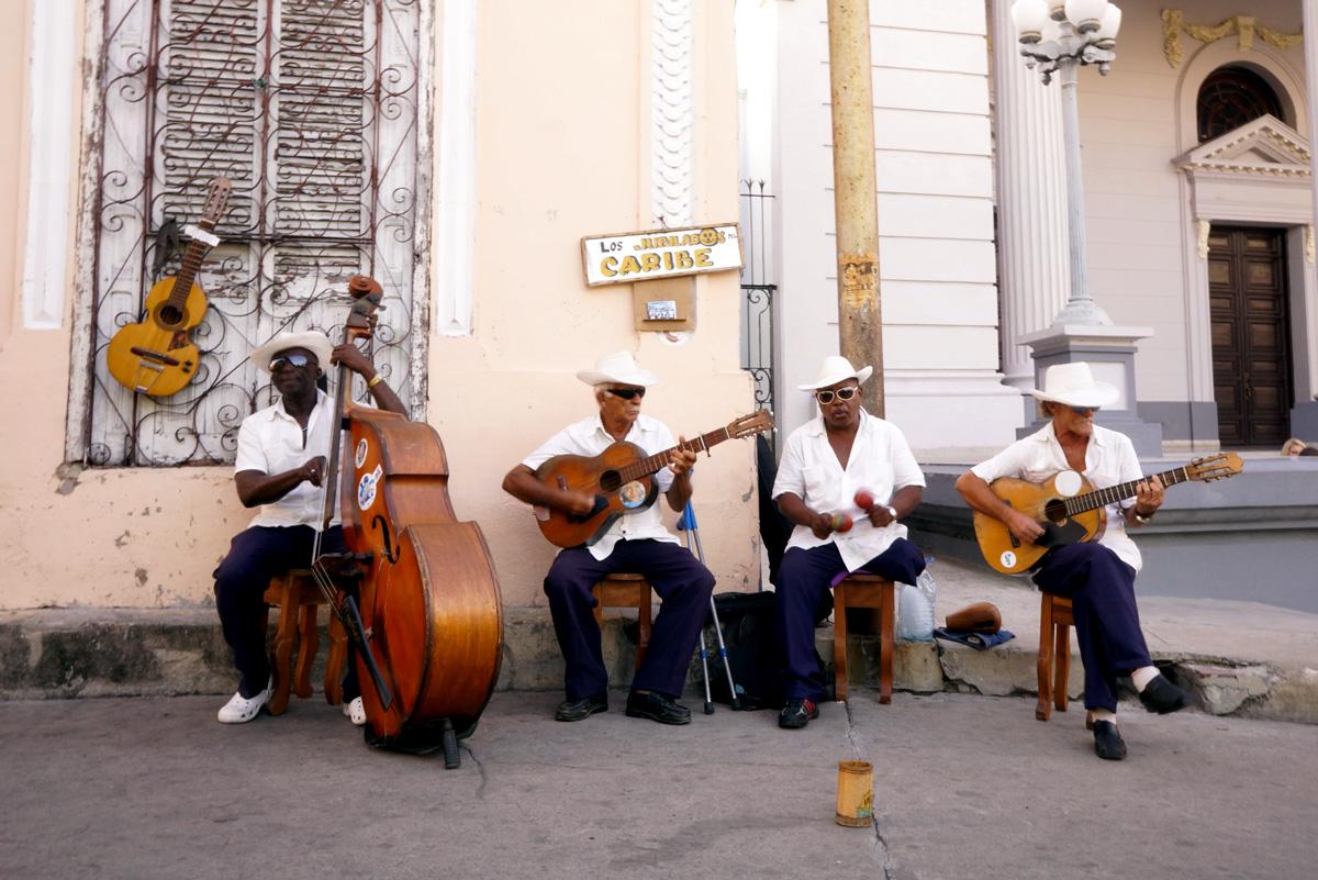Dans la rue à Santiago