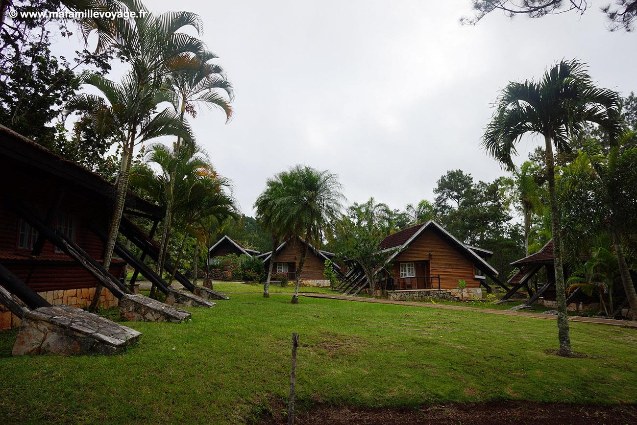 L'hôtel dans le Parc national la Mensura