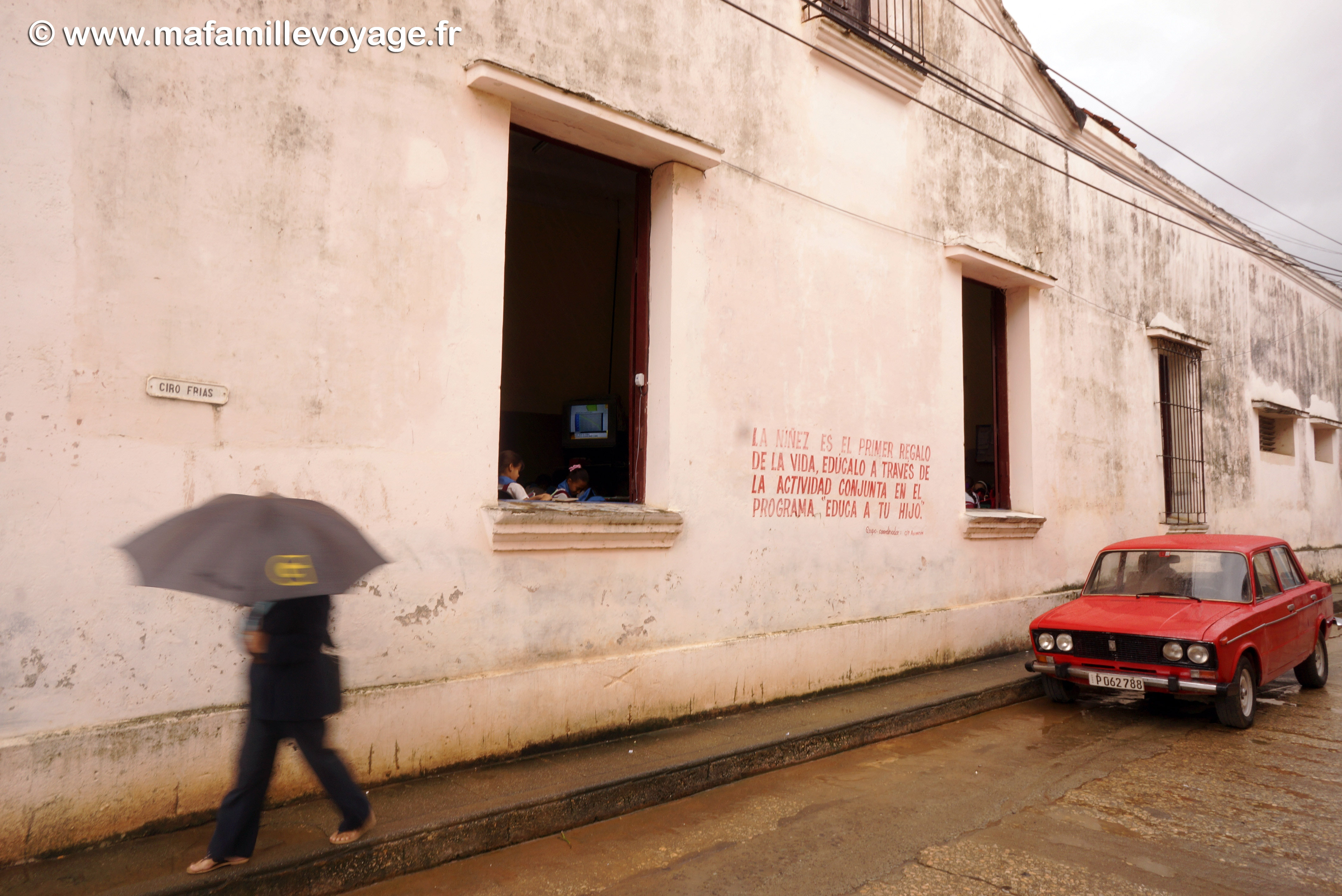 Baracoa sous la pluie