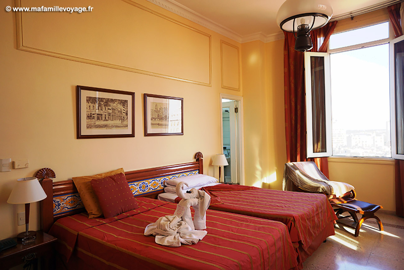 Notre chambre d'hôtel
