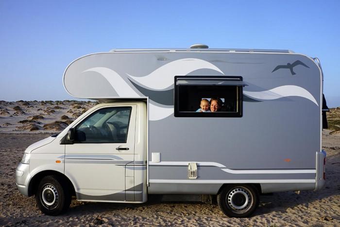 Toujours dans notre camping-car !