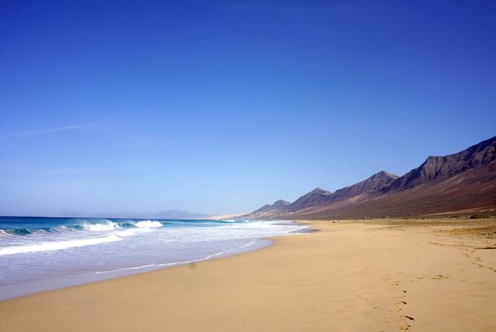 Cofete, un endroit préservé magnifique sur Fuerteventura.