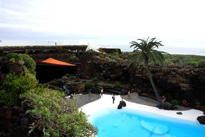 Jameos del Agua, un lieu unique imaginé par Cesar Manrique.