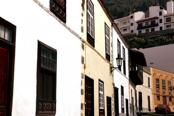 La petite ville de Garachico. Mignonne et préservée.