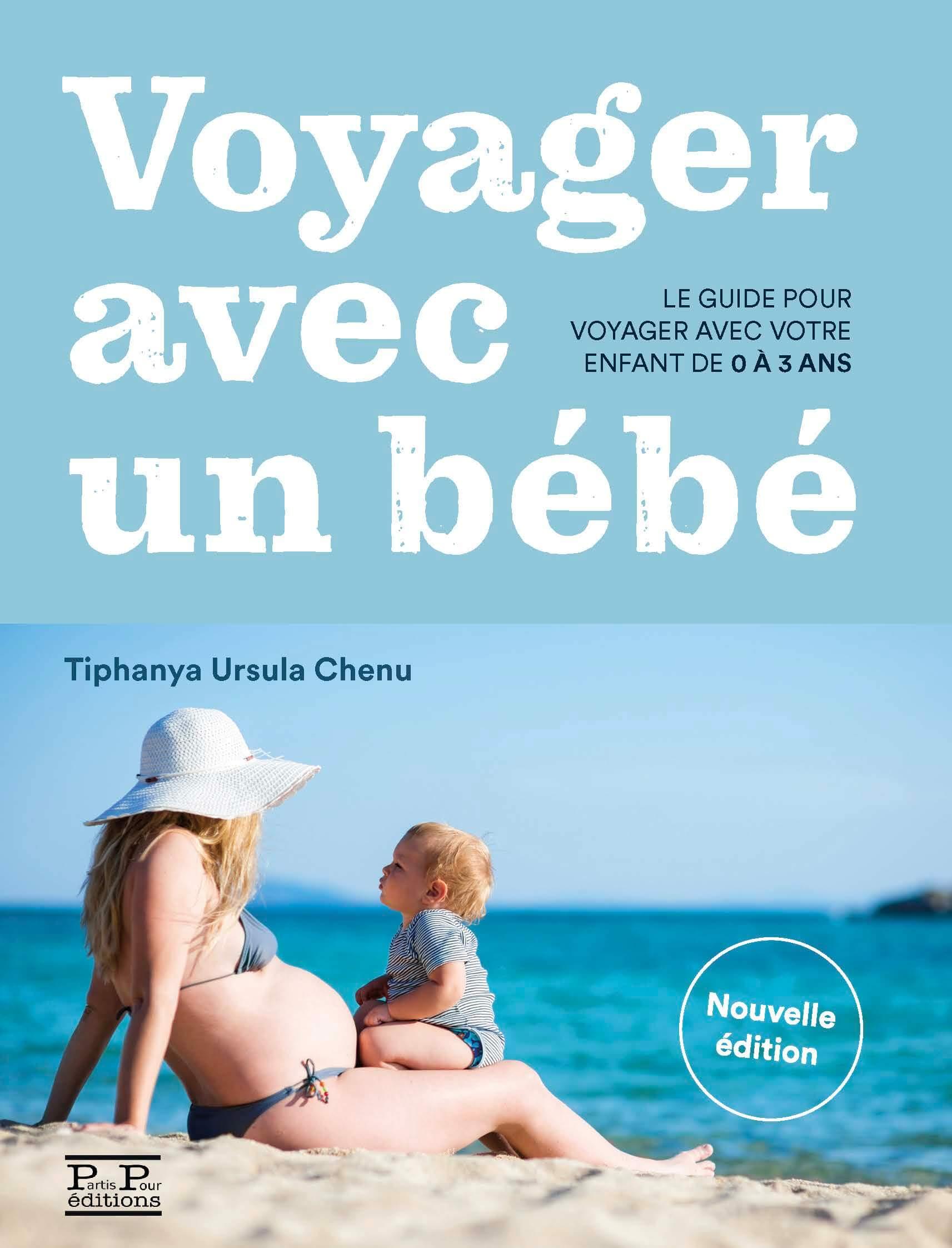 """Couverture du livre """"Voyager avec un bébé"""""""