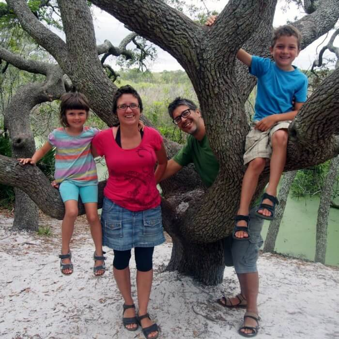 La famille Zenroots est nomade depuis 8 mois.