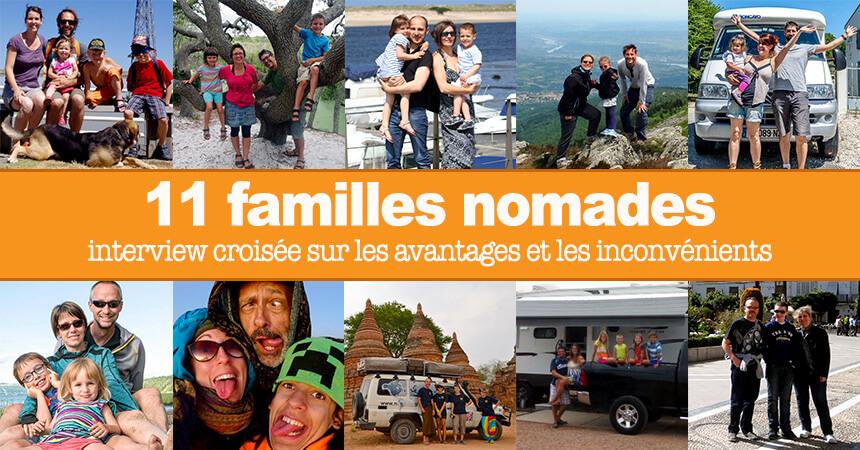 avantages et inconv nients du mode de vie nomade selon 11 familles. Black Bedroom Furniture Sets. Home Design Ideas