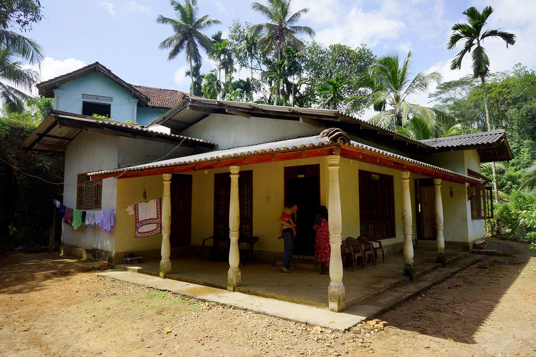 La maison où nous avons passé une semaine.