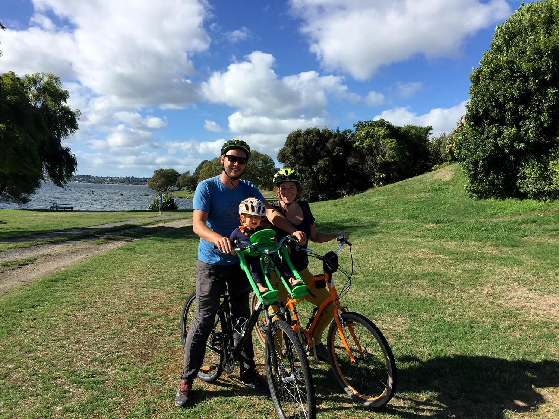 Tour en vélo autour du lac Taupo