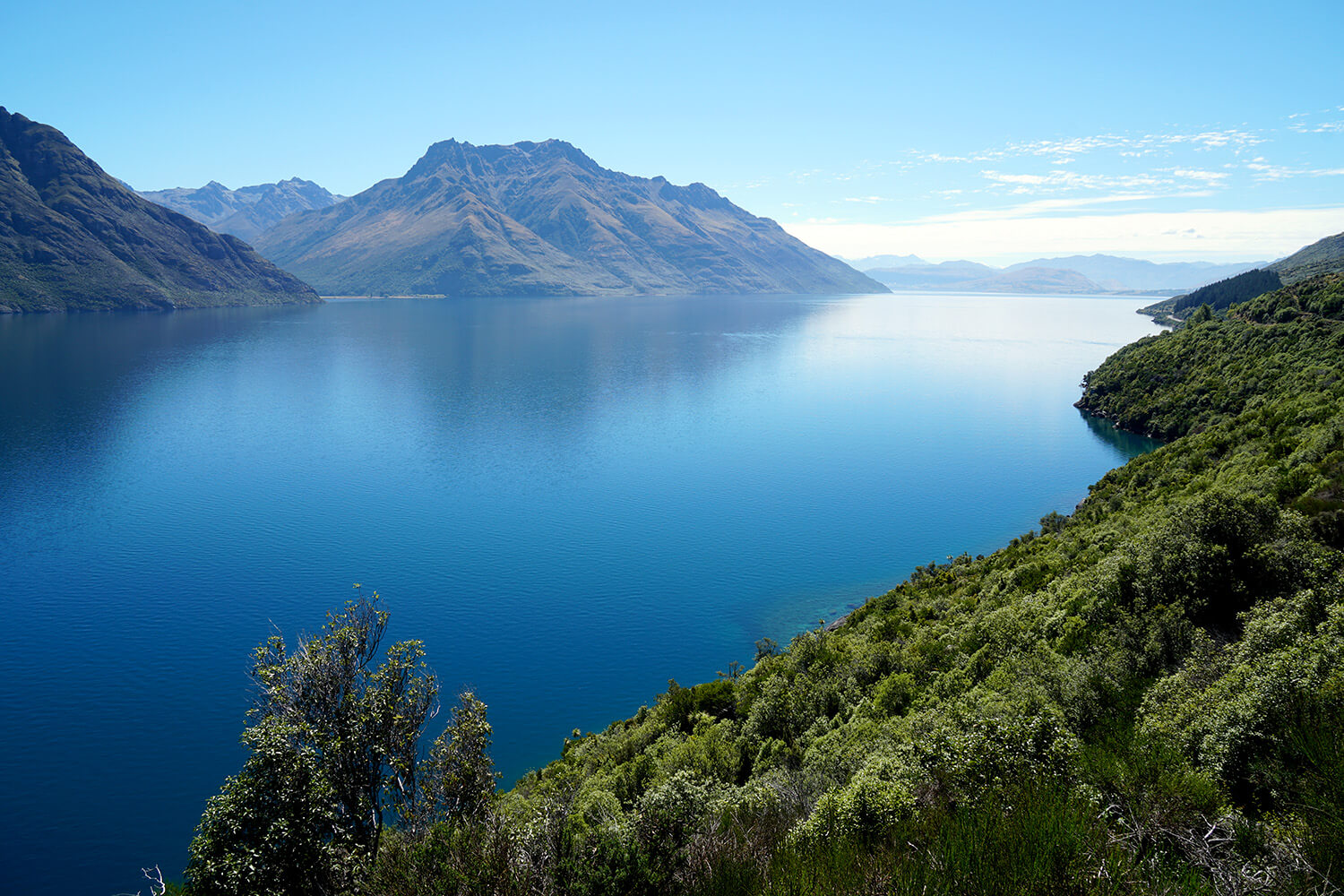 Le lac de queenstown