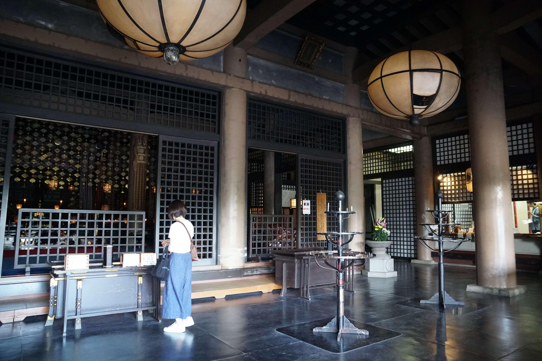 Dans le temple de Kurama