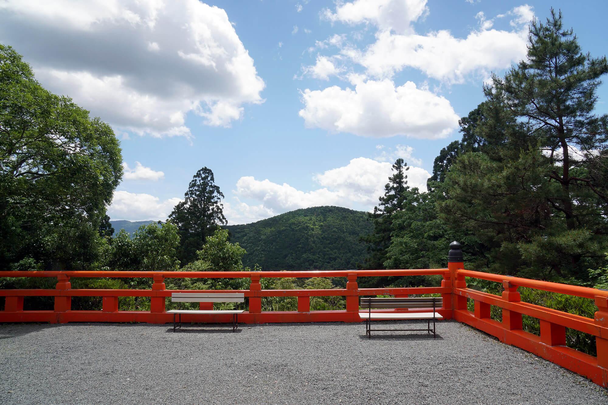 Perdu dans les montagnes, et pourtant à 30 minutes de Kyoto !