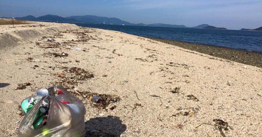 [Sauvegarde de la planète] [Coup de gueule] Elle était difficile à trouver cette plage…