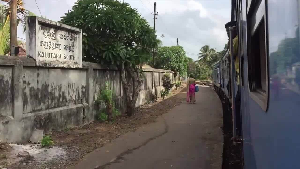 [VIDEO – LE TRAIN AU SRI LANKA – 1 minute] Hier, nous avons pris…