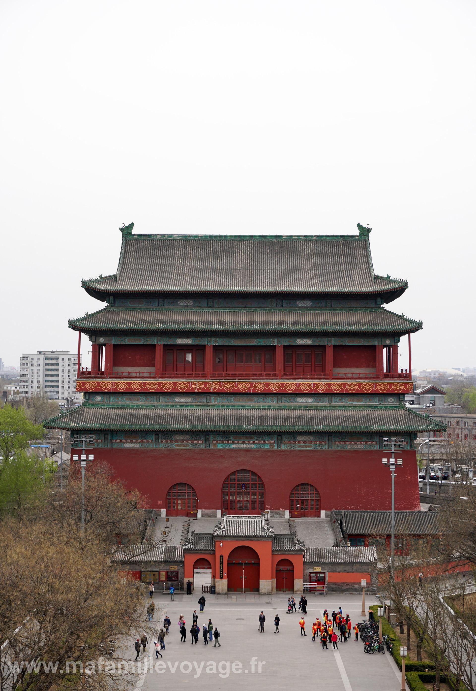 Tour des tambours (vue depuis la tour de la cloche)